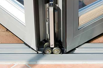 Tracks for longer lasting bifold doors