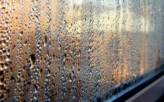double glazing with condensation in glass causes fogginess or cloudiness