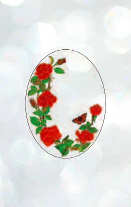 Stained Climbing Rose Art Film