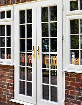 French Doors with Georgian Bars