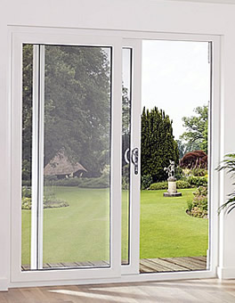 White uPVC Sliding Doors