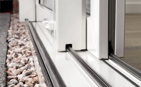 uPVC slim sliding patio door